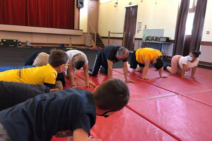 Les arts du cirque : jour 1.