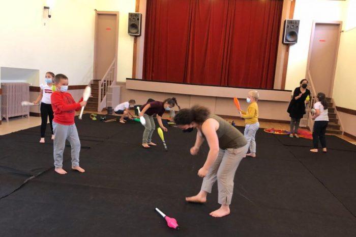 Les arts du cirque : jour 2.