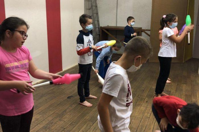 Les arts du cirque : jour 6